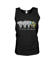 Autism Ok To Be A Little Different Unisex Tank thumbnail