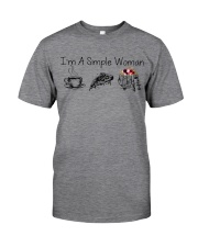Camping I'm a simple woman shirt Classic T-Shirt front