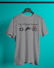 Camping I'm a simple woman shirt Classic T-Shirt lifestyle-mens-crewneck-front-3