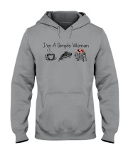 Camping I'm a simple woman shirt Hooded Sweatshirt tile