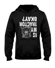 Farmer tractor Hooded Sweatshirt thumbnail