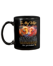 I Love You For Not Only Who You Are Horse Mug back