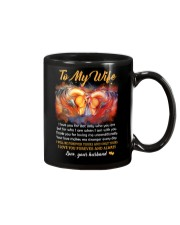 I Love You For Not Only Who You Are Horse Mug front