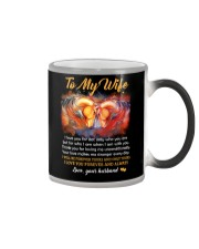 I Love You For Not Only Who You Are Horse Color Changing Mug thumbnail