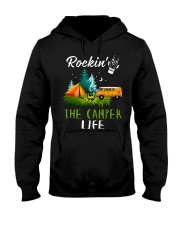 Camping Rockin' the camper life Hooded Sweatshirt thumbnail