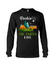 Camping Rockin' the camper life Long Sleeve Tee thumbnail