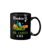 Camping Rockin' the camper life Mug thumbnail