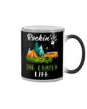 Camping Rockin' the camper life Color Changing Mug thumbnail