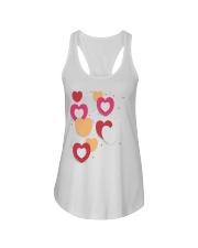 hearts Ladies Flowy Tank thumbnail