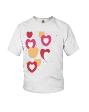 hearts Youth T-Shirt front