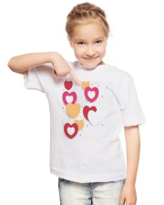 hearts Youth T-Shirt lifestyle-youth-tshirt-front-2