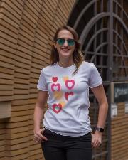 hearts Ladies T-Shirt lifestyle-women-crewneck-front-2