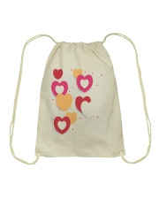 hearts Drawstring Bag thumbnail