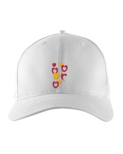 hearts Embroidered Hat thumbnail