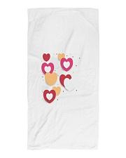 hearts Beach Towel thumbnail