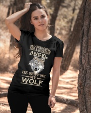 I Aske God For A Guardian Angel He Sent Me My Wolf Ladies T-Shirt apparel-ladies-t-shirt-lifestyle-06