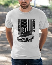 FOR AMERICAN CAR LOVERS Classic T-Shirt apparel-classic-tshirt-lifestyle-front-50