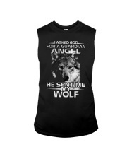 I Asked God For A Guardian Angel He Sent Me My Wol Sleeveless Tee thumbnail
