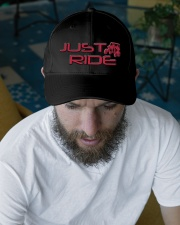 JUST RIDE Embroidered Hat garment-embroidery-hat-lifestyle-06