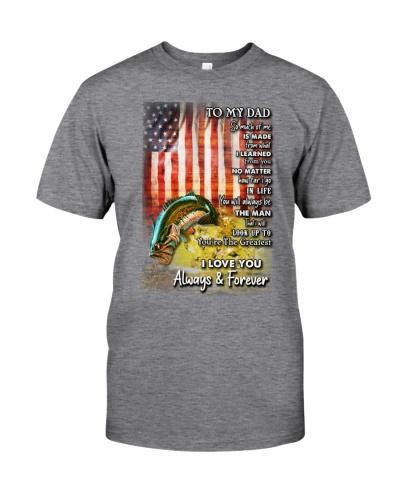 fishing lover t-shirt