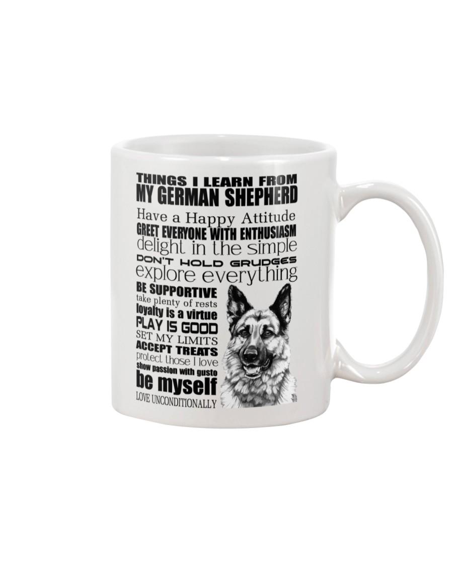 Thing i learn from German Shepherd  Mug