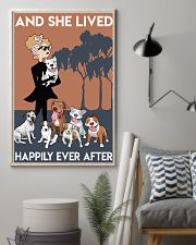 Pitbull She Lived Happily 11x17 Poster lifestyle-poster-1