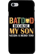 Batdad Because My Son Needs A Hero Too Phone Case thumbnail