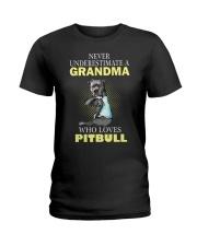Pitbull 2 Ladies T-Shirt thumbnail