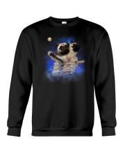 Pug Titanic Funny Crewneck Sweatshirt thumbnail