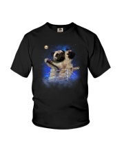 Pug Titanic Funny Youth T-Shirt thumbnail