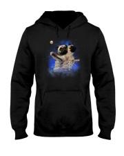 Pug Titanic Funny Hooded Sweatshirt thumbnail