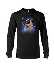 Pug Titanic Funny Long Sleeve Tee thumbnail