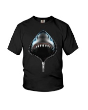 shark zipper shirts Youth T-Shirt thumbnail