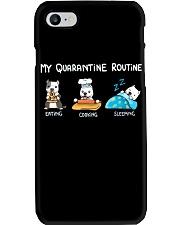 My Quarantine Routine pitbull3 Phone Case thumbnail