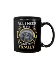 All L Need Is My And My Family labrador Mug thumbnail