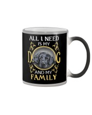 All L Need Is My And My Family labrador Color Changing Mug thumbnail