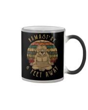 Namst'Ay 6 Feet Away pitbull Color Changing Mug thumbnail
