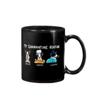 My Quarantine Routine boston2 Mug thumbnail