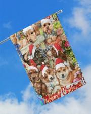"""Christmas flag 11.5""""x17.5"""" Garden Flag aos-garden-flag-11-5-x-17-5-lifestyle-front-16"""