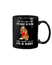 I'm Telling You I'M Not A Dog My Mom basset hound Mug thumbnail
