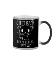 6 feet back because fluff you thats why Color Changing Mug thumbnail