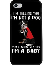 Bernese Mountain I'm Telling You I'm Not A Dog Phone Case tile