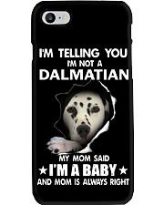 I'm telling you i'm not a dalmatian Phone Case thumbnail