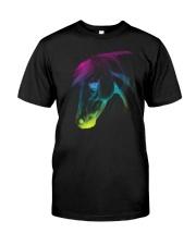 HORSE RAINBOW  Classic T-Shirt front