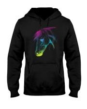 HORSE RAINBOW  Hooded Sweatshirt thumbnail