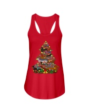 Dachshund T-shirt Christmas gift for friend Ladies Flowy Tank thumbnail