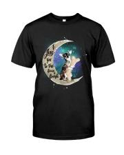 I Love You To The Bone Hark chihuahua Classic T-Shirt front