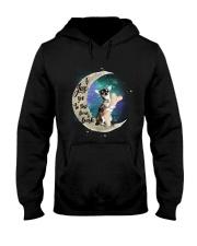 I Love You To The Bone Hark chihuahua Hooded Sweatshirt thumbnail