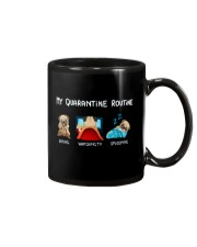 My Quarntine Routine pug2 Mug thumbnail