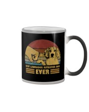 Best Labrador Ritriever Dad Ever Color Changing Mug thumbnail